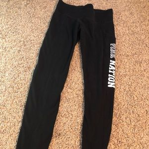 VS pink yoga leggings XS